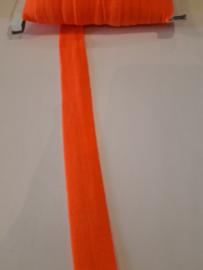 Elastisch biasband fluor oranje