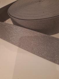 Elastiek grijs 5 cm