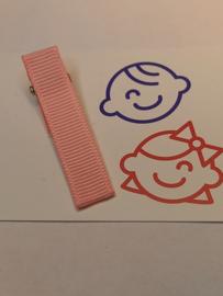 Roze 5 cm alligator met anti slip