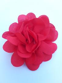 haar bloem 4 cm rood