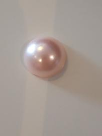 Flatbacks 10 mm licht roze
