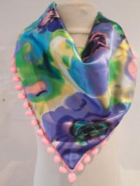 Sjaal maat M rozen