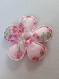 Bloem 3.5 cm roze bloemen