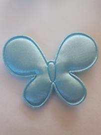 Vlinders applicatie blauw