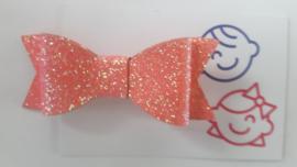 strik coraal  glitter 7 cm