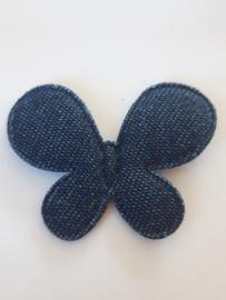 Vlinders applicatie spijkerbroek