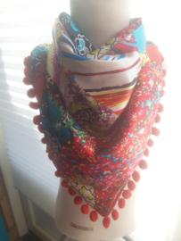 Sjaal maat s rood