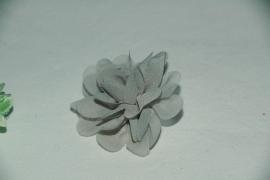 Haar bloem grijs 4cm