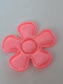 Bloem applicatie neon roze