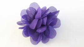 Haar bloem paars 4cm