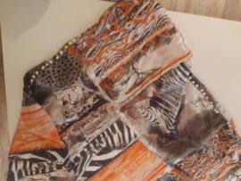 Sjaal maat XL safari