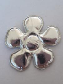 Bloem 3 cm zilver