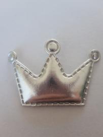 Kroon  zilver groot