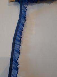 Organza elastiek blauw