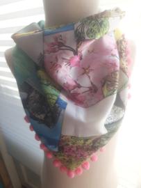 Sjaal maat s bloesem