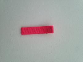 neon roze 5 cm alligator met anti slip