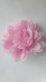 Haarbloem  11 cm roze
