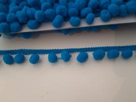 Bolletjes band blauw