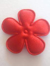Bloem 3.5 cm donker rood