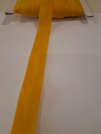 Elastisch biasband maïs geel