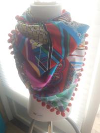 Sjaal maat M rood