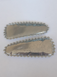 35 hoesjes zilver