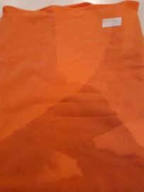140 x 120 polo shirt stof neon oranje
