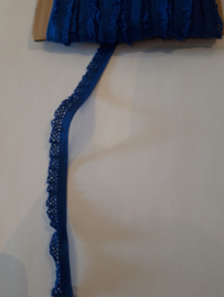 Sier elastiek royal blauw