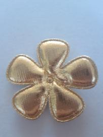 Bloem 47 mm goud