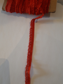 Sier elastiek rood