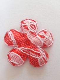 Bloem 3.5 cm rood kant