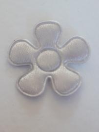 Bloem applicatie zilvergrijs