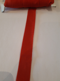 Elastisch biasband rood