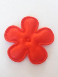 Bloem 2.5 cm rood