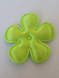 Bloem 2.5 cm gif groen