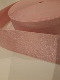 Elastiek roze 5 cm