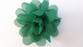 Haar bloem groen 4cm