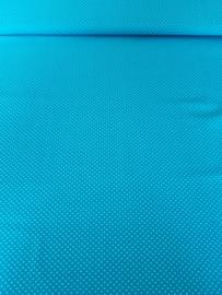 Groen/blauw met stippen