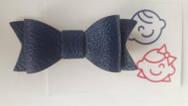 strik navy blauw 7cm