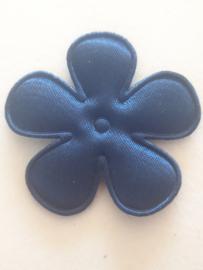 Bloem 3.5 cm blauw navy