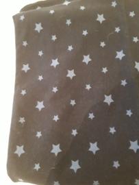 150 x 75 cm blauw sterren