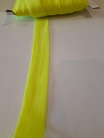 Elastisch biasband fluor geel