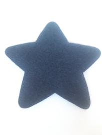 ster blauw groot