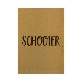 Ansichtkaart - Schooier