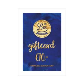 Beezonder Giftcard €10,-