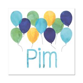 Geboortekaartje Pim