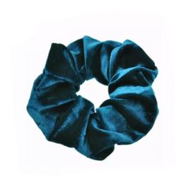 Petrol - Velvet scrunchie