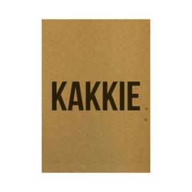 Ansichtkaart - Kakkie