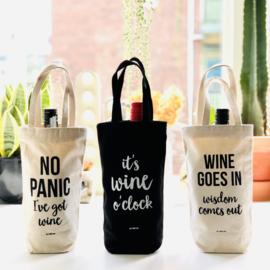 Wijntas zwart - I make wine disappear What's your superpower?
