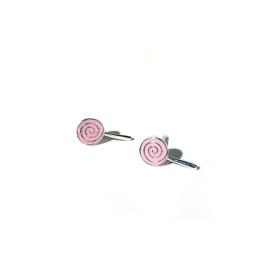 Lolly oorbellen op wenskaart